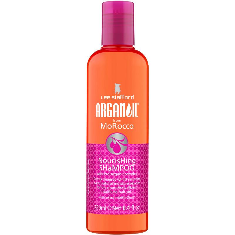 Lee Stafford Nourishing Argan Oil Shampoo Vyživující šampon s arganovým olejem 250ml